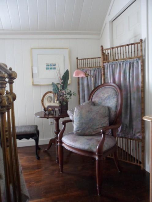 attic corner chair